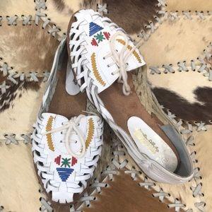 Vintage women's slip on shoes